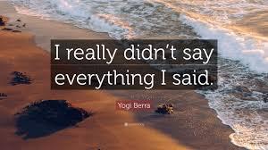 Yogi Bera